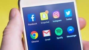 social media within website design