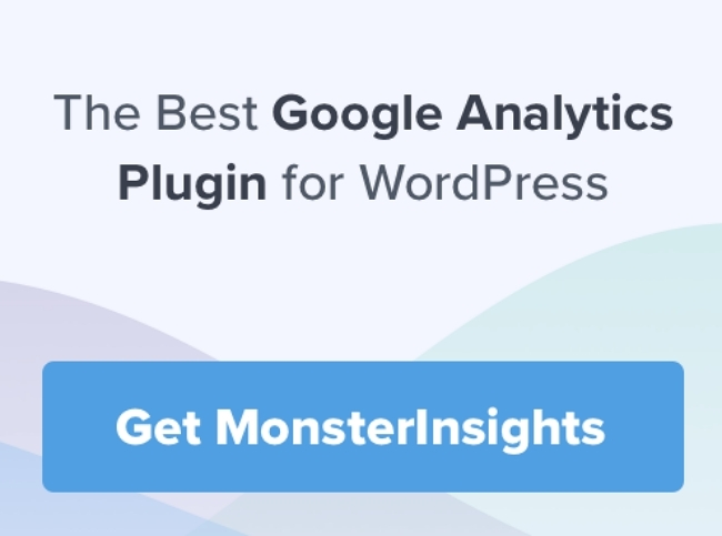 Monsterinsights the best google analytics Plugiin for WordPress