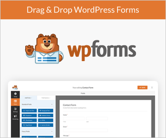 The Best Form Builder - WPForms